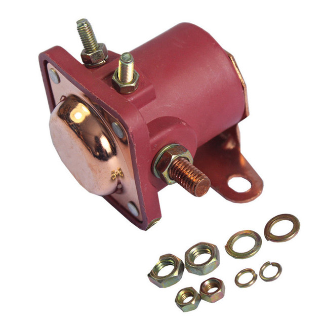 Car Relay New Red Solenoid Relay 12v Heavy Duty For Ford