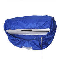 Household Air Conditioner Cleaning Dust Washing Cover Clean Waterproof Dustproof Covers Protector For 2-3P