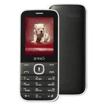 Оригинальный ipro I324F открыл мобильный телефон SC6531DA 2.4 дюймов английский/испанский или русский GSM Dual SIM сотовых телефонов для старые люди