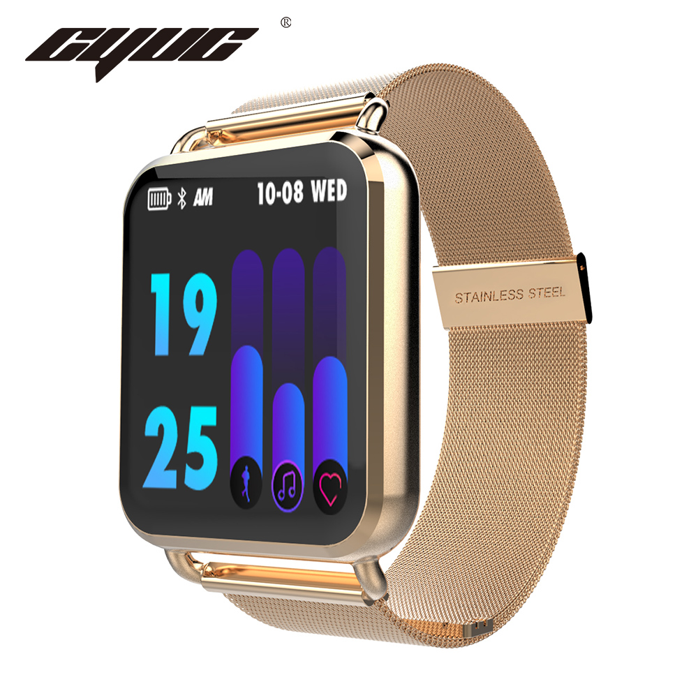 CYUC Q3 Smart watch Men waterproof Dynamic Blood Oxygen Pressure Pedometer fitne