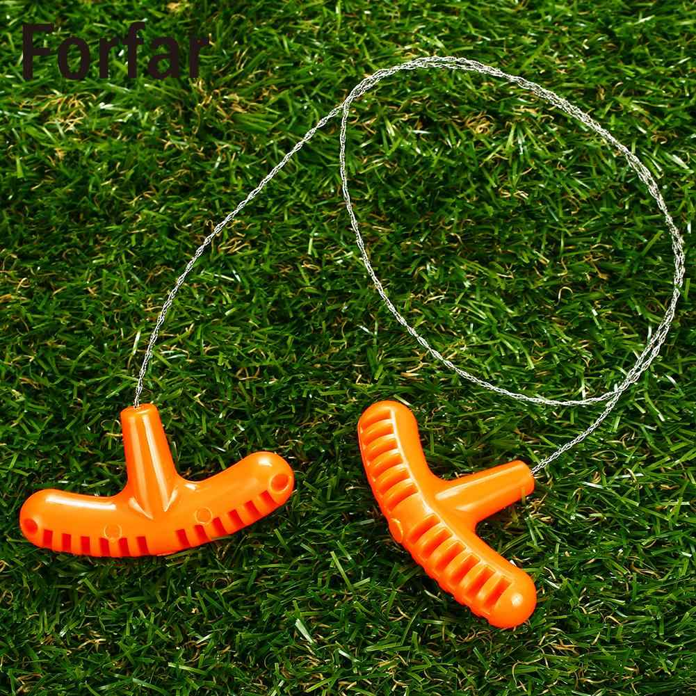 76B9 Orange Survival Saw Wire Saws Gear Tools Steel Rope EDC Sawing Tool 70cm