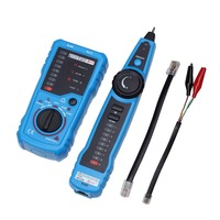Multi function RJ11 RJ45 Cat5 Cat6 Telephone Wire Tracker Tracer Toner Ethernet LAN Network Cable Tester Detector Line Finder