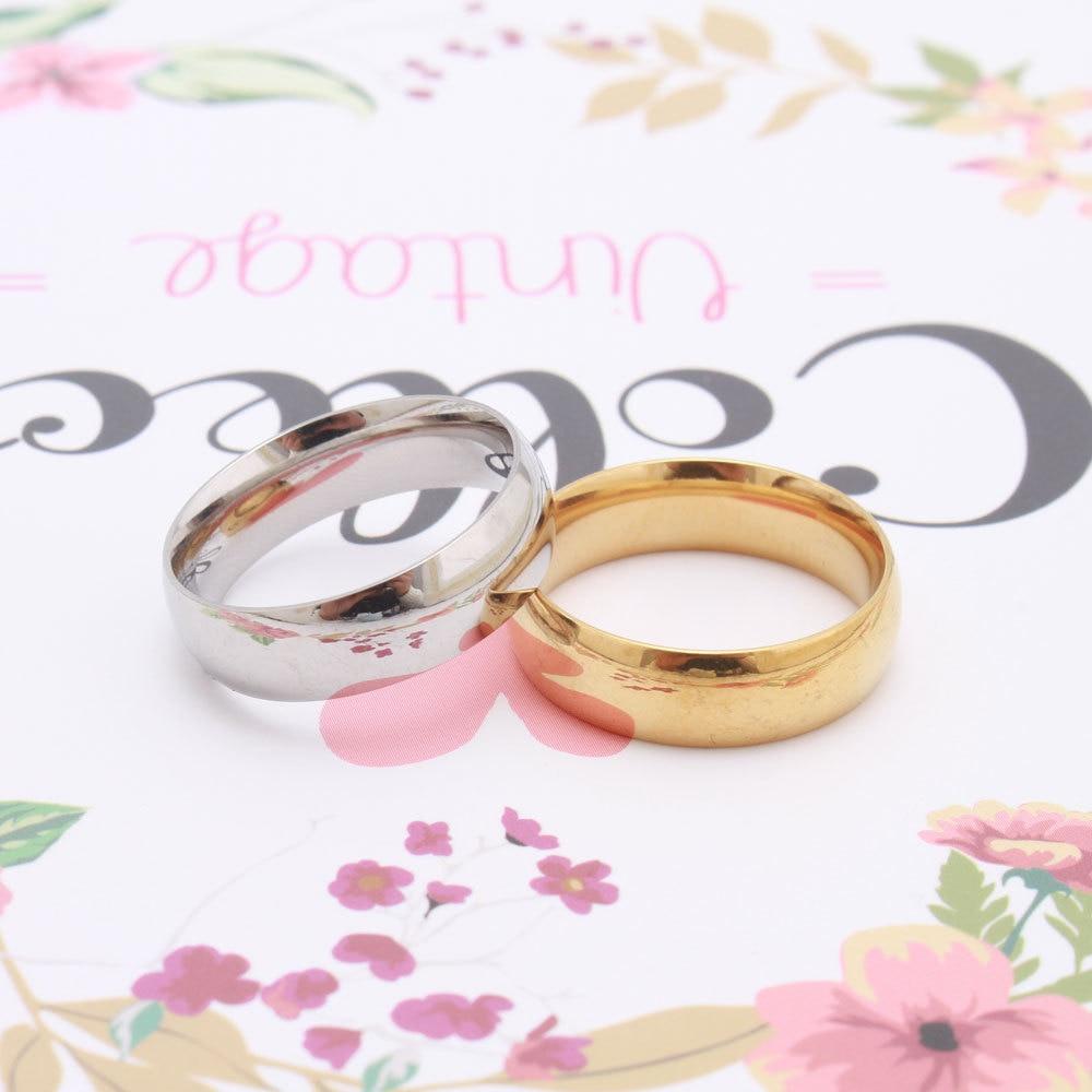 5 PcsTitanium Steel Carter Love Rings Women Men Couples Anel Wedding Ring Brands Logo Name Pulseira Feminina Jewelry Wholesale