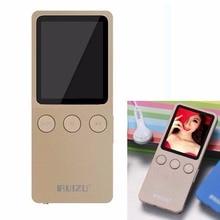 """Venta caliente 1.8 """"8 GB Reproductor de MP3 Adelgaza de Vídeo Radio FM Reproductor De 64 GB juego de la música tarjeta sd micro tf veces 200 horas ruizu X08"""