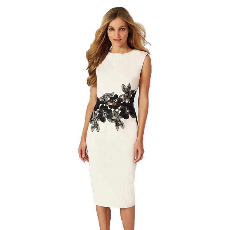 Rq80109 Floral Waistband Ladies Dresses Ol Style Fashion Elegant Dress New Arrival High Quality