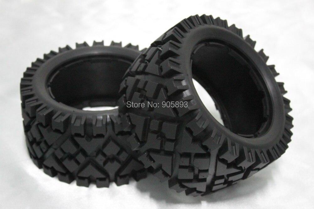 5B Rear All Terrain Tire Set x 2pcs for 1 5 Baja 5B without inner foam