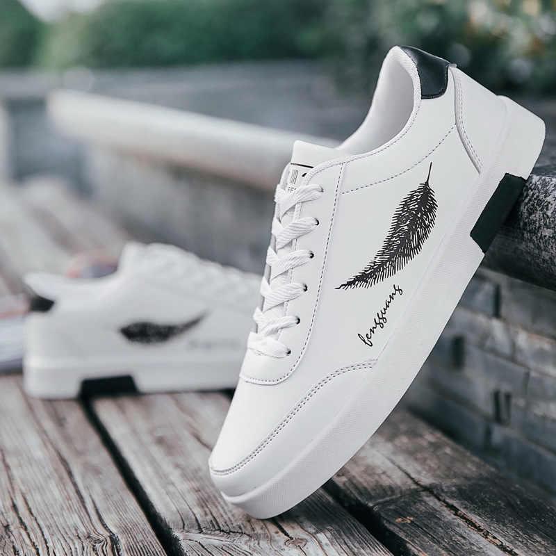 Mhysa 2019 ניו אביב אופנה גברים של נעליים יומיומיות לבן סניקרס גברים של נעלי חיצוני נוח לנשימה שטוח נעלי L494