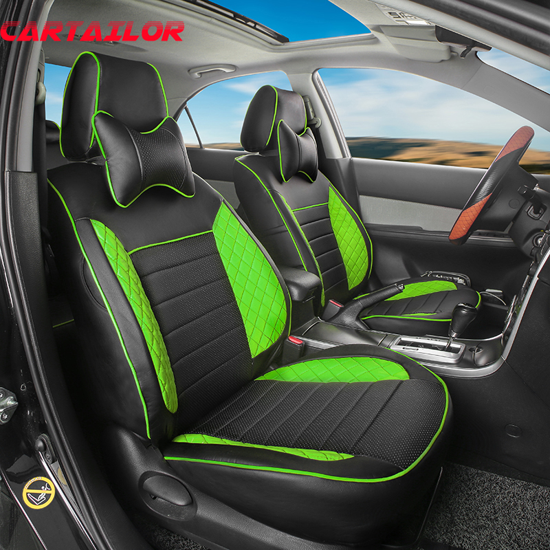 Cartailor Cover Seat Protector For Fiat Linea Car Seat Cover Set Custom Fit Seat Covers