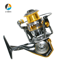 AI-SHOUYU Spinning Fishing Reel  5.1:1 Full Metal Fishing Reel Max Drag 6kg 2000/3000/4000/5000/6000 11+1BB Carp Fishing Reel new ryobi accurist 2000 3000 4000 fishing spinning reel 4 1bb 3kg 5kg max drag reels fishing wheels metal spool saltwater