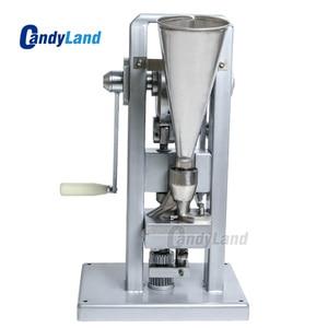 Image 5 - Machine de presse de pilule de CandyLand TDP0 pour le comprimé de Calcium de tranche de lait de poinçon simple faisant le simulateur de presse actionné à la main