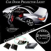 Nero Plastica del Portello di Automobile Senza Fili Batteria Proiettore Laser Luce di Marchio Su Misura