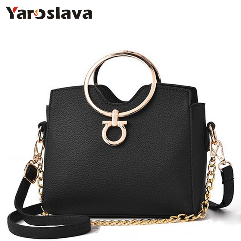 2018 casual chains metal handle small handbags hotsale laides purse famous brand evening clutch messenger shoulder bags LL313