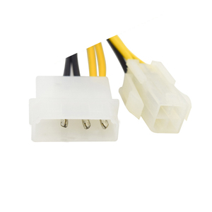 Image 3 - 6 بوصة ATX 12 فولت P4 4 دبوس مع موليكس LP4 إلى EPS 12 فولت 8 دبوس اللوحة/وحدة المعالجة المركزية موائم مصدر تيار محول كابل ، ATX P4 إلى EPS 8pin