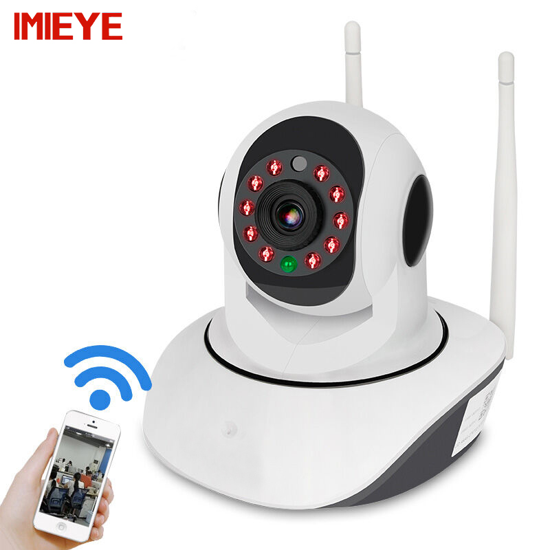 IMIEYE 1080P Full HD WiFi IP Camera Max 128G SD Card IR Night Vision Alarm CCTV Surveillance Security Wireless Cam Pan Tilt Zoom 1920 1080p 2 0mp 8gb sd card ip camera wireless wifi cctv camera pan tilt night vision security camera p2p cam with ir cut
