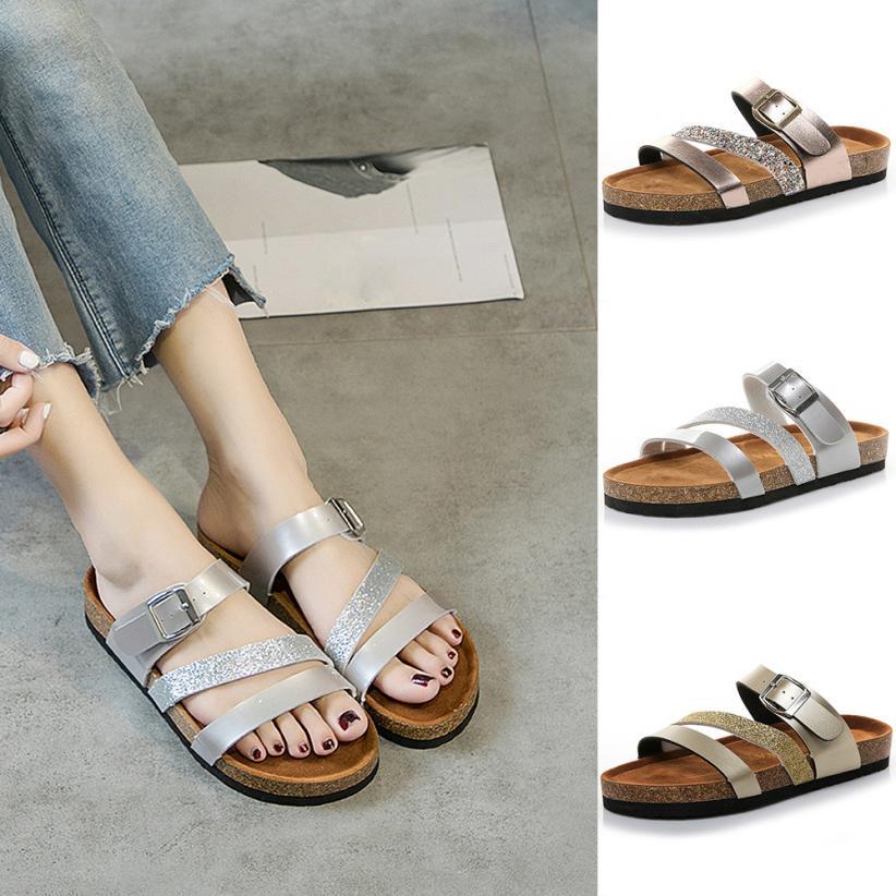 Sagace Shoes Flip Flops Womens Cross Toe Strap Flat -6594