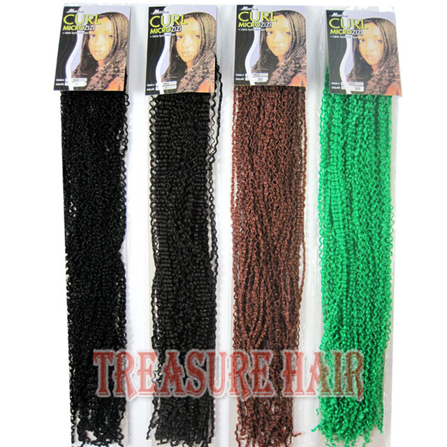 Micro Knot Zizi Braids Synthetic Hair Extension Afro Hair Extensions