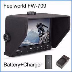 Feelworld FW-709 7 Inches IPS HD screen On-Camera Field Monitor 1024x600 Resolution for sony ,nikon Camera