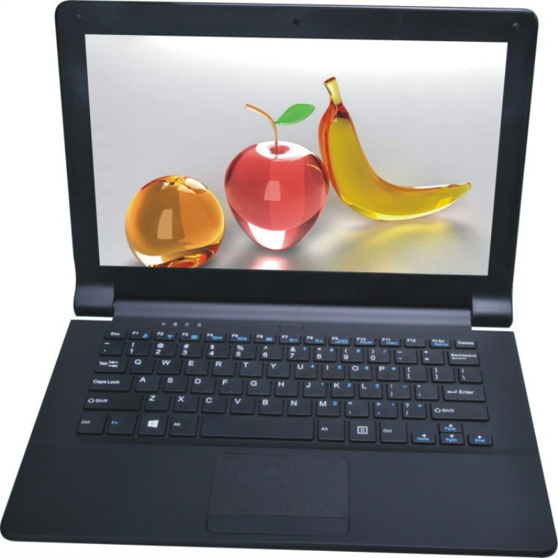 Ultraslim Intel Atom x5-E8000 CPU 11.6inch 1.04GHz RAM 4G+120G M.2 SSD Quad Core Laptops Computer Windows 10 Notebook image