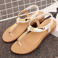 2016 hot sellings elástico de borracha sola plataforma flip flops sandálias sólidos moda recém das mulheres sapatos