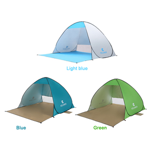 Image 4 - KEUMER Automatic Camping Tent Ship From RU Beach Tent 2 Persons Tent Instant Pop Up Open Anti UV Awning Tents Outdoor Sunshelter