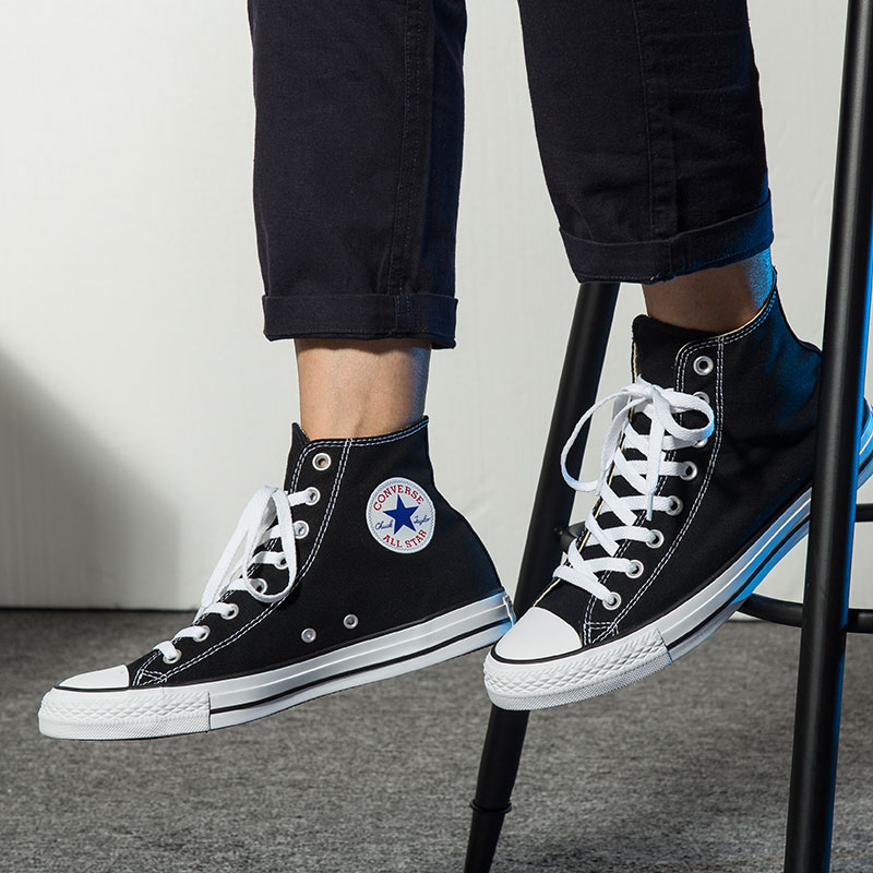 Converse All Star Skateboarding chaussures pour hommes Original classique unisexe toile haut Sneaksers Sports plein air femmes chaussures - 5