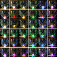 Dodecagonal Performance Prop Women Dance Accessories Light Up Wing Costume Wings Girls LED Wings Belly Dance 36 Colors-changin