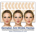 NEW 100% GOOD ANTI-WRINKLE PATCHES FROWN LINES SMILE LINES FOREHEAD CREASES FREE SHIPPING