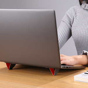 Image 5 - Benzersiz taşınabilir dizüstü Standı Tablet için Evrensel Standı Apple MacBook Pro 11 15 inç Katlanabilir Ayarlanabilir Ofis Dizüstü pc standı