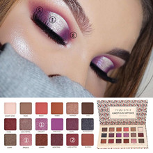 HANDAIYAN Matte Glitter Shimmer Palette Diamond Eyeshadow Eye Shadow Korean Makeup