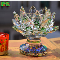 Wholesale 36pcs Lot Green Home Crystal Votive Candle Holder