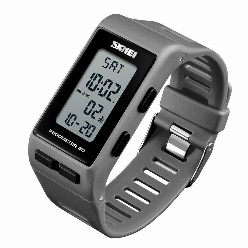 Pedometer Calories Digital Watch SKMEI Brand Bracelet LED Chronograph Electronic Wrist Watches Luxury Sports Relogio Masculino
