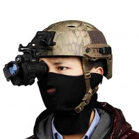 Men Hunting Night Vision Riflescope Monocular Device Waterproof Night Vision Goggles PVS 14 Digital IR Illumination For Helmet