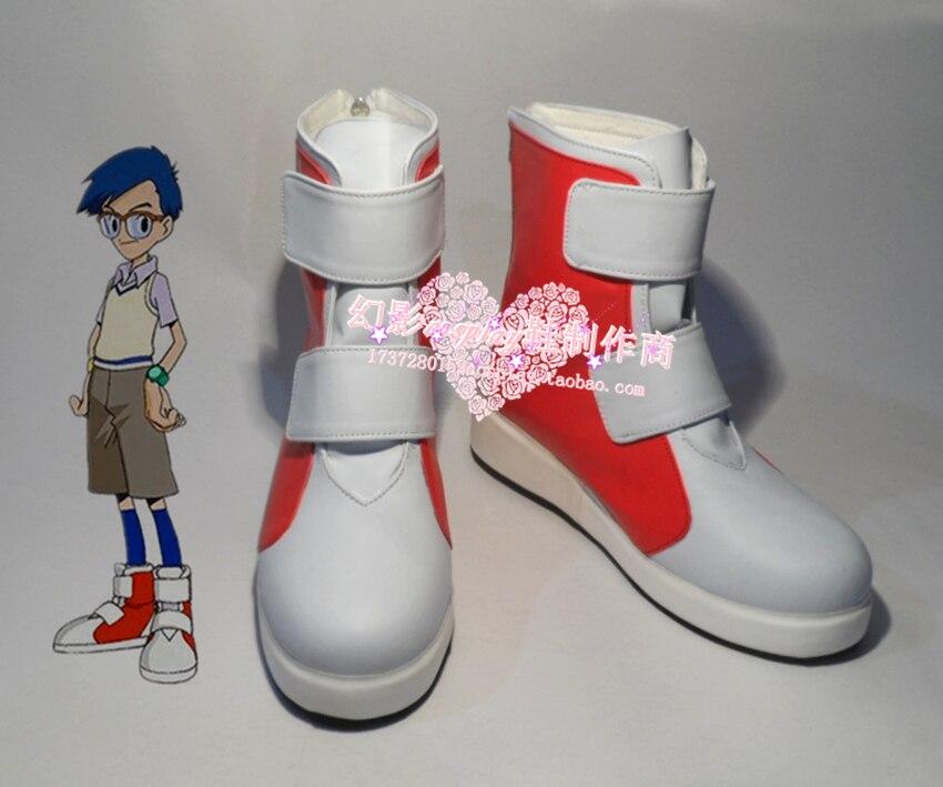 Charlotte Yuu Otosaka cosplay Shoes Boots Custom Made 652