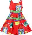 Sunny fashion girls vestido de casa del árbol del gato pájaro party vestido de tirantes 2017 de la princesa del verano vestidos de novia ropa de la muchacha tamaño 4-10 pageant