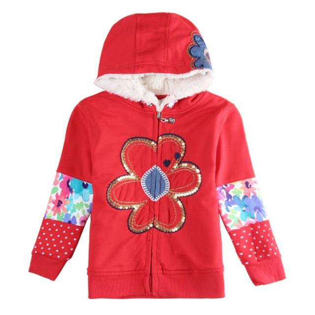 winter red kids hoodies children wear jacket zipper new year Sweatshirts for teenage girls baby sport suits kids cotton clothing