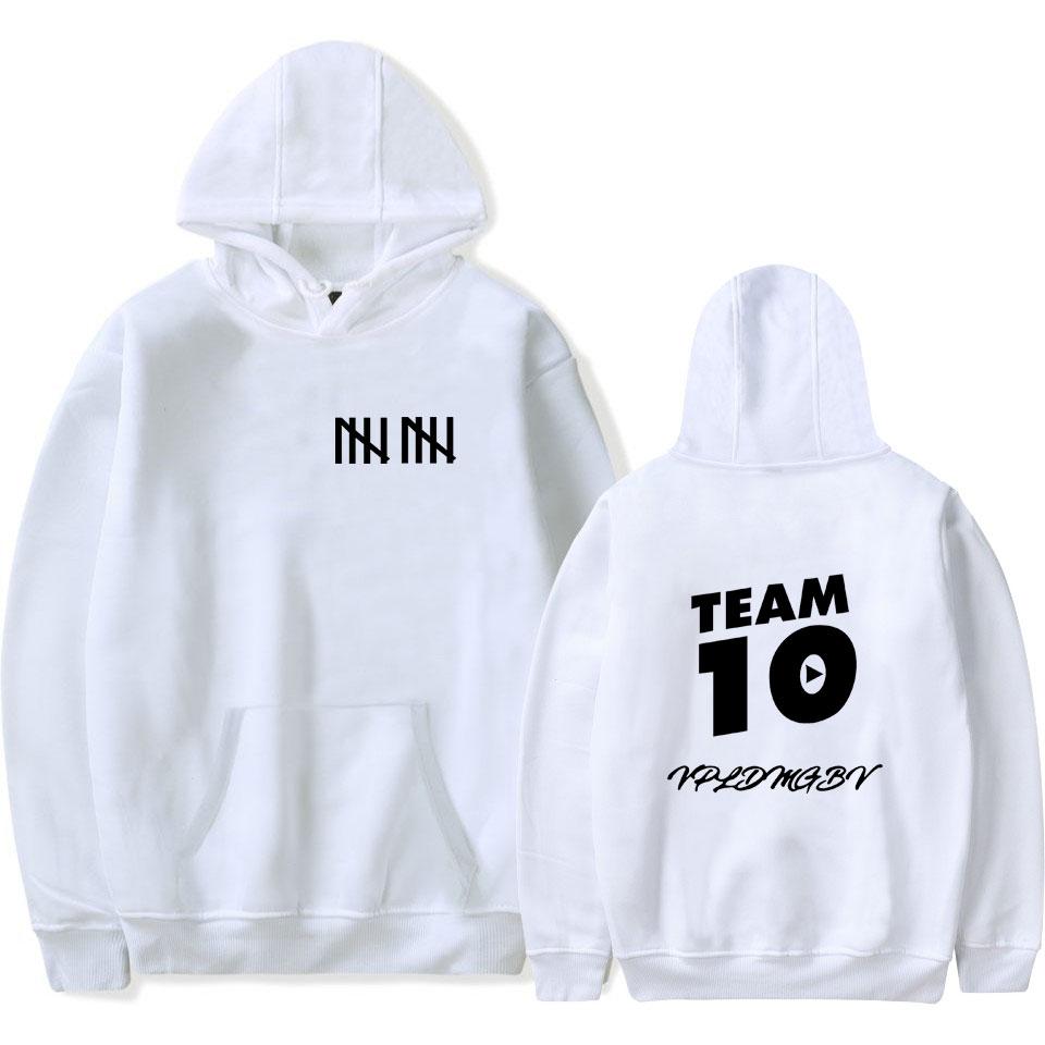 Hot Jake Paul X Team 10 Hoodie Its Every Day Bro unisex 's Sweatshirt Pullover