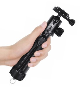 Image 2 - SIRUI 3T 35 Table Top/Handheld Video Tripod with Ball Head   Black