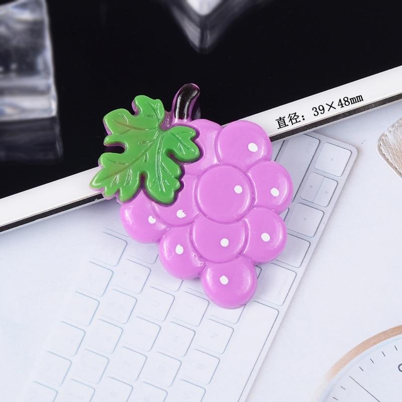 1 Piece Cute Simulation Fruits Apple Walnut Model Mini Statue Figurine Crafts Ornament Miniatures Phone Pendant Earring DIY in Figurines Miniatures from Home Garden
