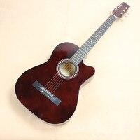 Горячая 38 Акустическая Гитары 38 11 высокого качества Гитары ra музыкальных инструментов с гитарные струны