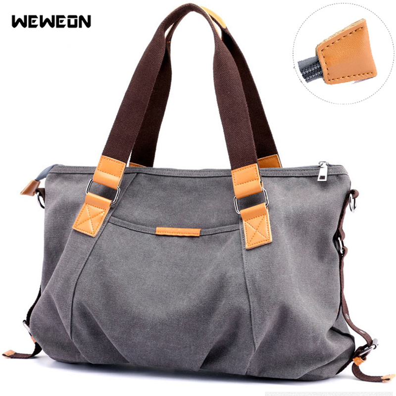 Lady's Canvas Gym Bags Waterproof Sport Bag For Women Fitness Handbag Crossbody Travel Duffel Tote Yoga Handbag Party Package