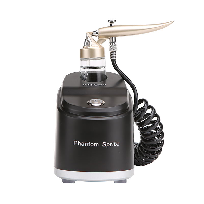 OPHIR Facial Beauty Equipment SPA Airbrush Compressor Kit LED Oxygen Airbrush Water Oxygen Skin Rejuvenation Machine AC044 цена