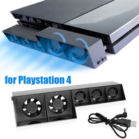 For Sony PS 4 USB Heatsink Complete Cooling Fan Smart Turbo Temperature Control USB Cooling