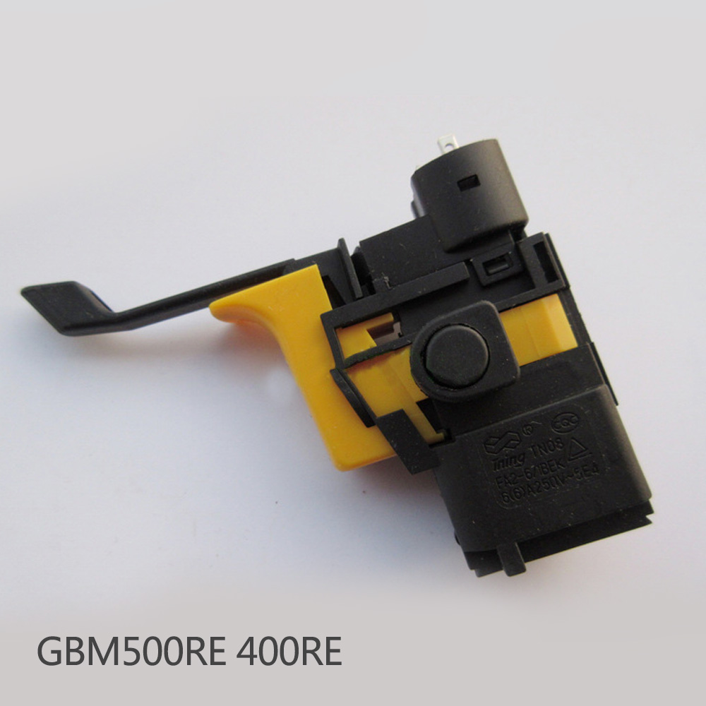 High-quality! Electric Drill Speed Control Switch for bosch GBM500RE GBM400RE, Original Power Tool Accessories. free shipping original electric hammer drill speed control switch for bosch tsb1300 gsb500re power tool accessories