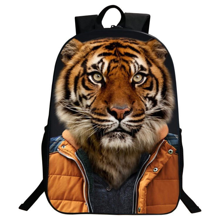 7fcfe03f1c ... 3D Animal Printing Bag Boys Girls School Backpack Kids Bagpack Unisex Bag  Children School Backpacks Child s
