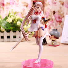 22cm Japanese Anime Queen Blade Figure Queen's Blade Alleyne sexy Action Figure Swimsuit Arudora Sexy Girl Model Toys EO10 new wholesale cos assassins creed 3 hidden blade pvc action figure edward kenway assassin creed hidden blade model kids toys