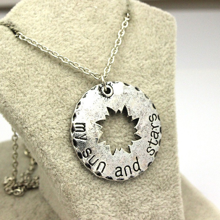Game Of Thrones Moon Of My Life And My Sun and Stars Necklace