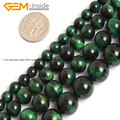 Round Green Blue Tiger Eye Dyed Color Beads For Jewelry Making 6-12mm 15inches DIY Jewellery FreeShipping Wholesale Gem-inside
