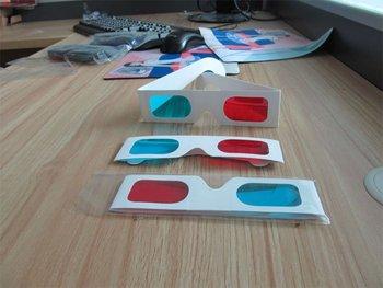 10000pic 3d papel de parede óculos 3d óculos anaglyph vermelho azul para filmes com alta qualidade e frete grátis 1