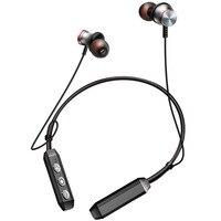 NVAHVA Sport Bluetooth Earphone Wireless Headphone Headset Magnetic Metal Earbuds Handsfree For Xiaomi IPhone Smart Electronics
