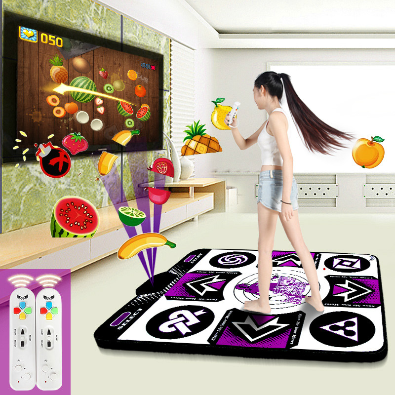 Cdragon dance mats pad motion sensing 11mm wireless for Computer/TV Game fitness free shipping